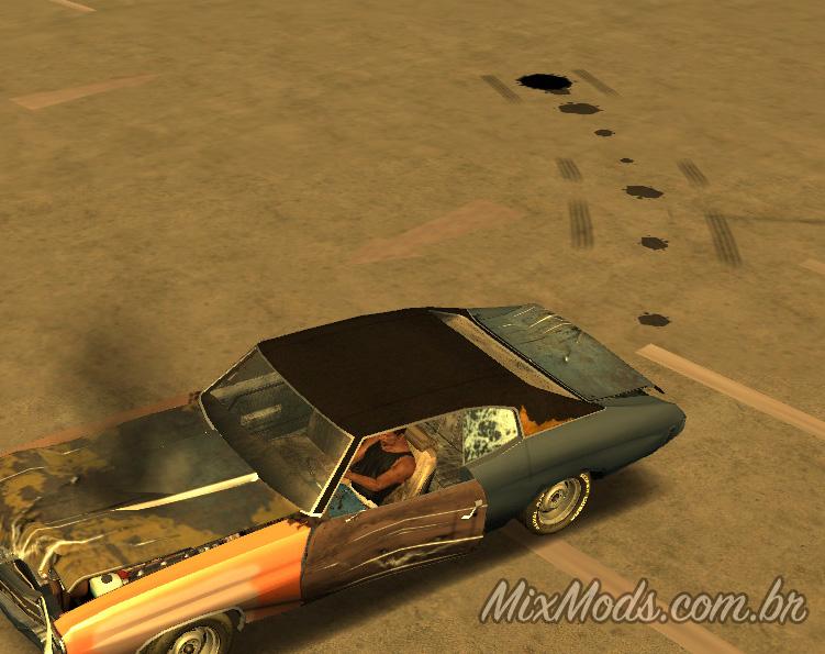 Oil Leaking v2 (pingar óleo do carro) - | MixMods | Mods para GTA SA
