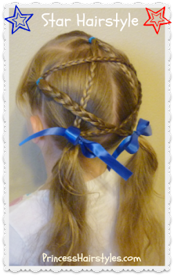 Easy Star Hairstyle Tutorial