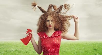 L'astuce naturelle contre le gonflement des cheveux (cheveux  mousseux)