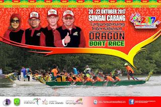 dragon boat race festival bahari kepri 2017