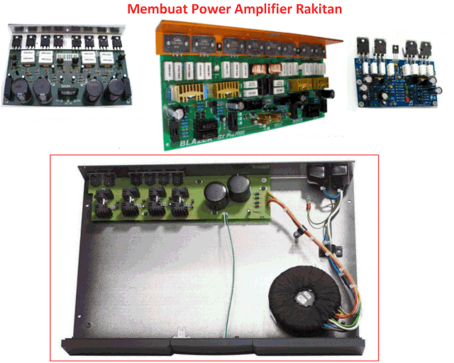 Merakit Power Amplifier Bell Rakitan