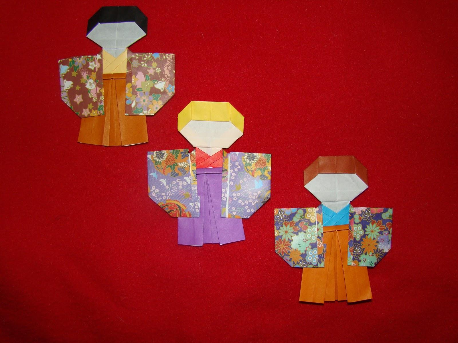 Origami Maniacs: Origami Shichi Go San Boy by Taiko Niwa - photo#43