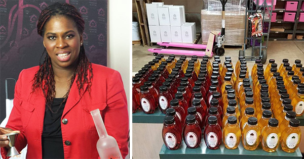 Vanessa Braxton, owner and CEO of Black Momma Vodka