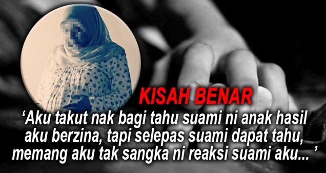 KISAH BENAR : Suami Mandul, Isteri Nekad Berzina Dengan Lelaki Lain Hingga Berzina, Bila Suami Dapat Tahu...