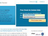Cuci blog dengan Broken Link