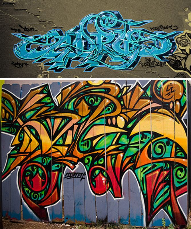 Graffiti Designs & Styles: Tagging, Bombing and Painting