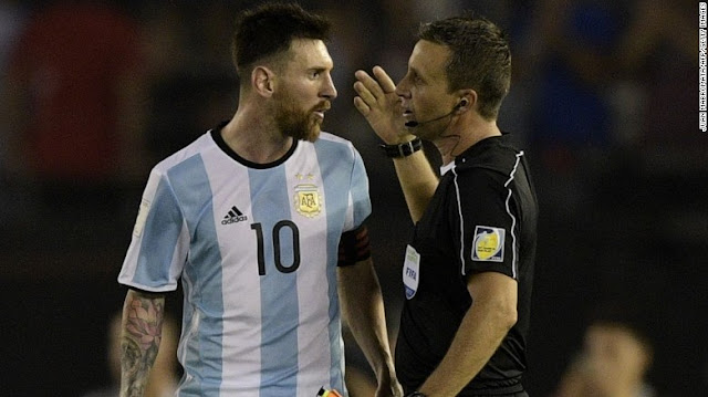 FIFA Banned Lionel Messi For Four Matches