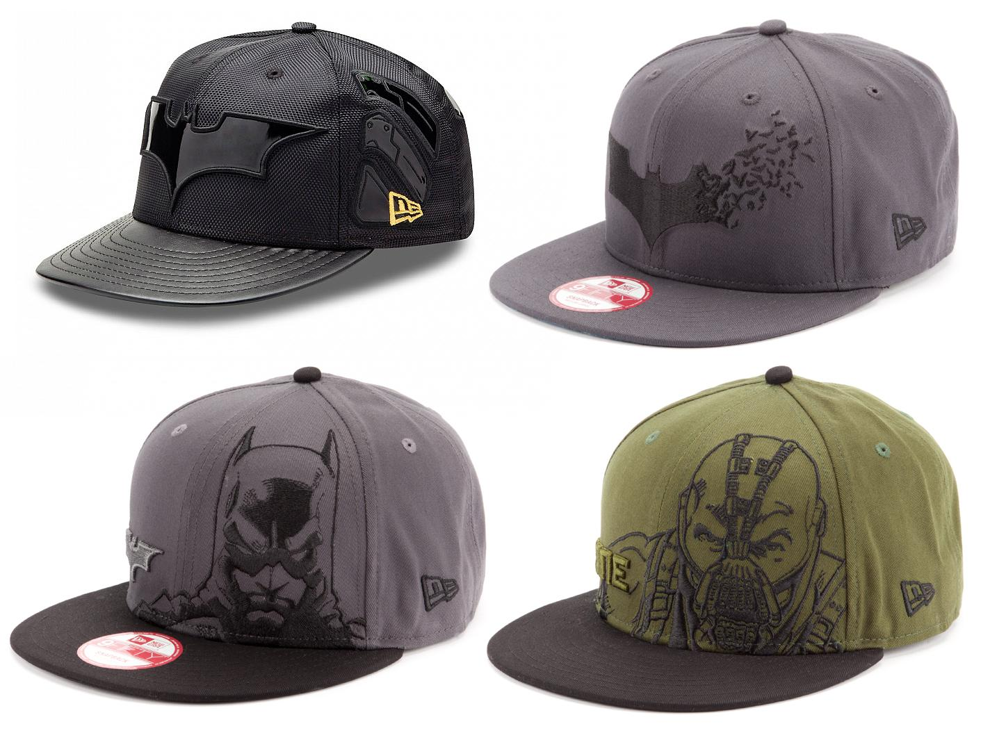 The Dark Knight Rises New Era Hat Collection - Batman and Bane Snapback and  Fitted Hats bfeb26ae8e95