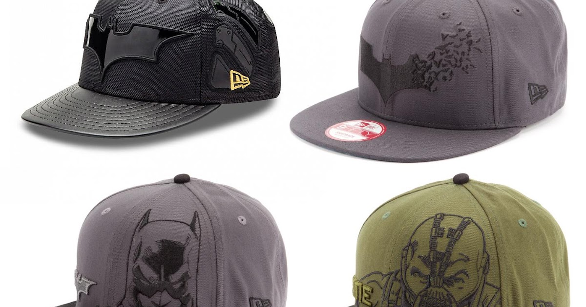 The Blot Says...  The Dark Knight Rises New Era Hat Collection bc1ff3763745