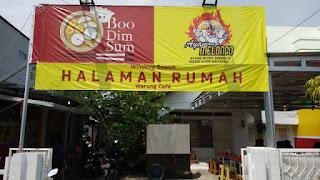 Nyam Lezaat!! Boo Dim Sum Hadir di Warung Cafe Halaman Rumah Indramayu