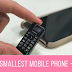 World's Smallest Mobile Phone - price ??