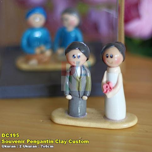 Souvenir Pengantin Clay Custom Souvenir Pernikahan