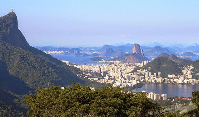 Rio de Janeiro, Pão de Açúcar, Cristo Redentor, Lagoa Rodrigues