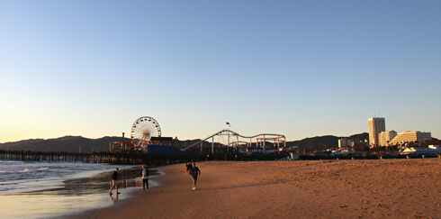 santa monica pier los angeles california