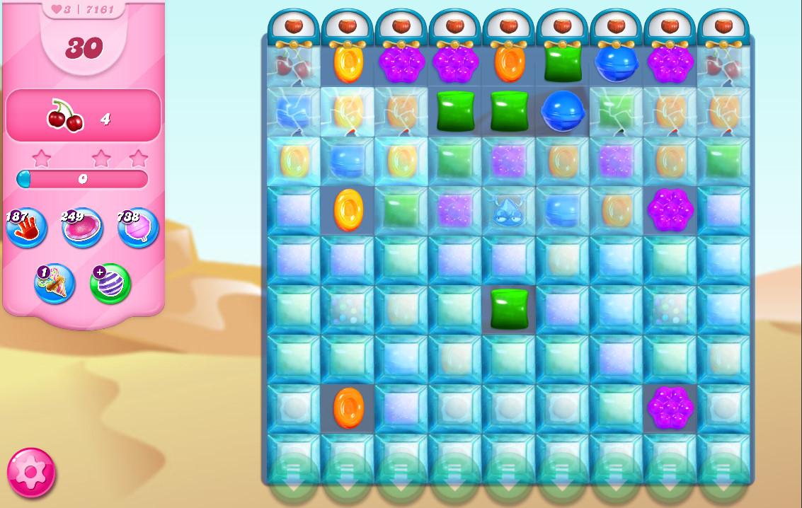 Candy Crush Saga level 7161