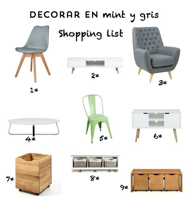 shopping list estilo nórdico