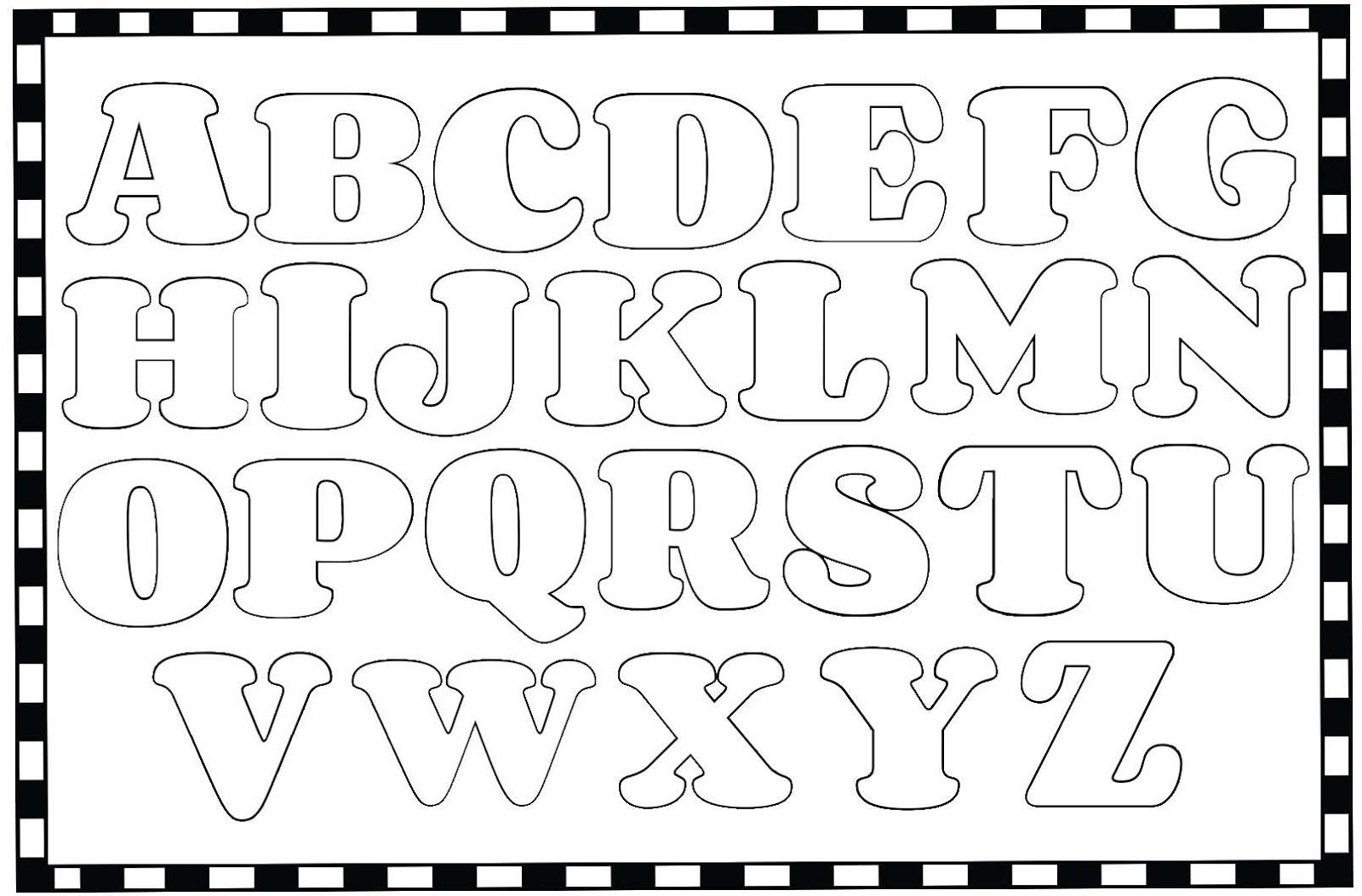 Color Me Alphabet Poster