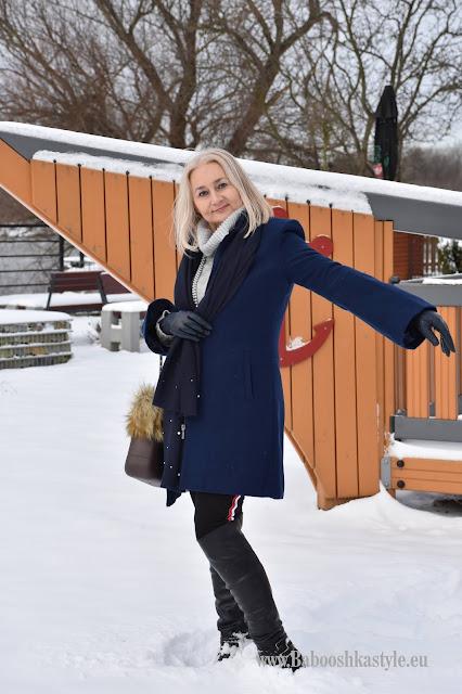 Orsay, Babooshkastyle, stylistka, personal shopper, Deichmann, doubleubag.pl, Mohito, over50style, blogerkamodowa, zimowy płaszcz