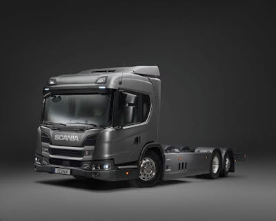 Scania aposta nos caminhões híbridos