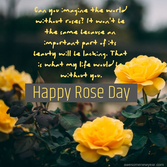 Rose Day Quotes for hubby