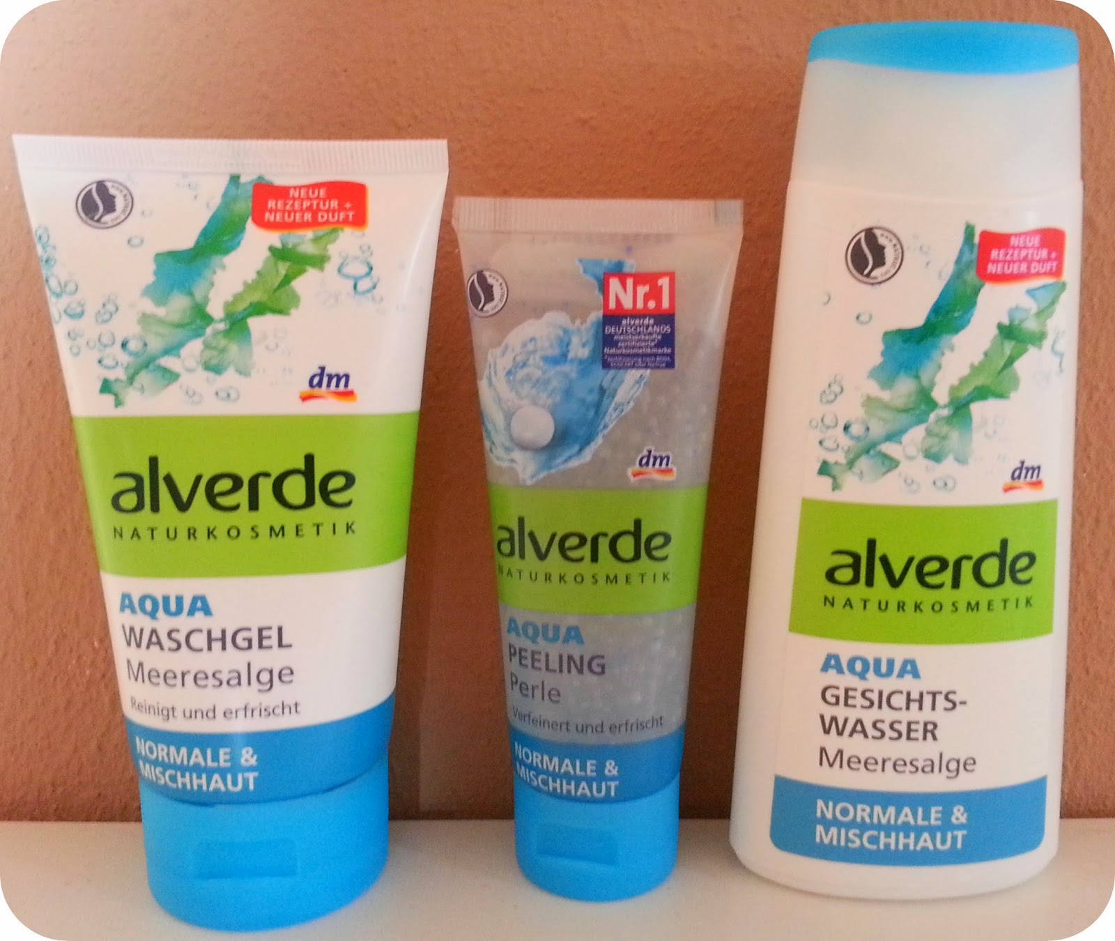 [Produkttest Nr.1] Alverde Aqua Serie mit Meeresalge