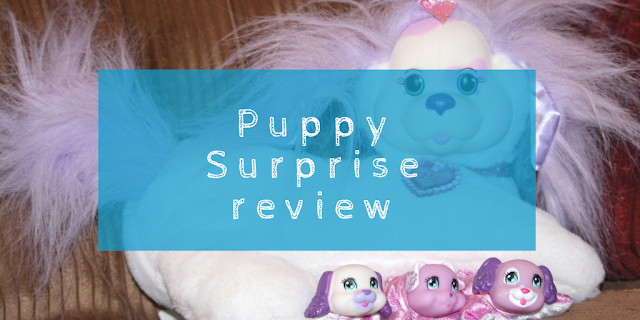 A blast from the past: Puppy Surprise toy review (Cali wave/series 8)