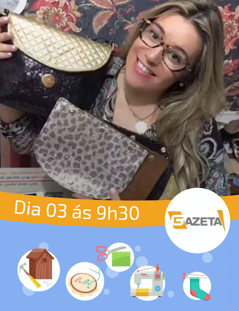 Programa Ao Vivo na TV Gazeta - Adriana Dourado