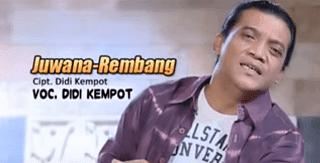 Lirik Lagu Juwana Rembang - Didi Kempot