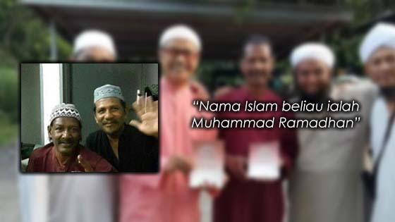 Kisah Pelakon Acappan Memeluk Agama Islam
