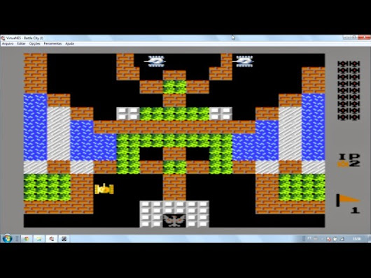 Battle City - Nes: