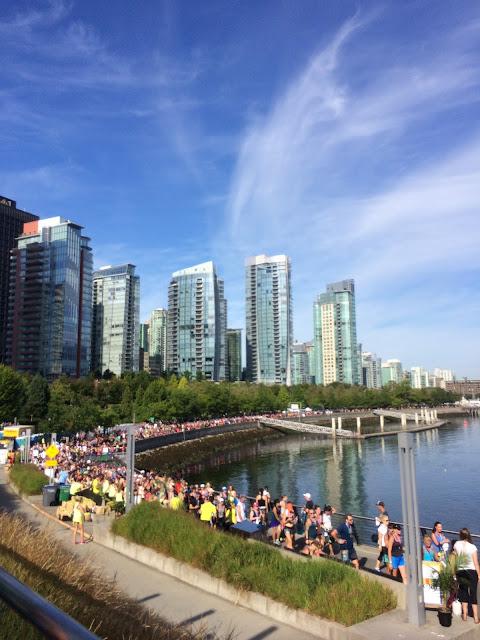 vancouver lululemon seawheeze half marathon review