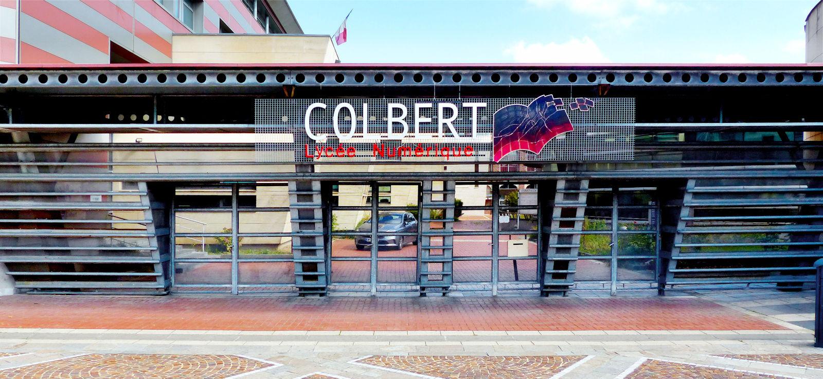 Lycées TOURCOING - Lycée Colbert, grille d'entrée