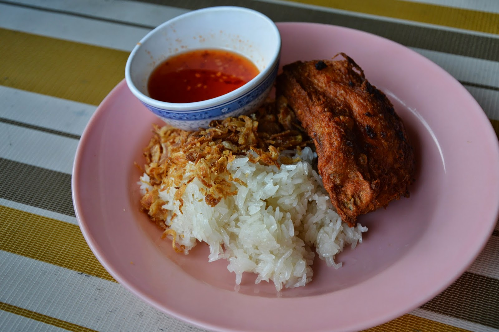 Pulut Ayam For Breakfast