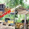 Dandim 1415/Kep Selayar Bersama Masyarakat Merintis Jalan Didua Desa Pada Pra TMMD Ke 102