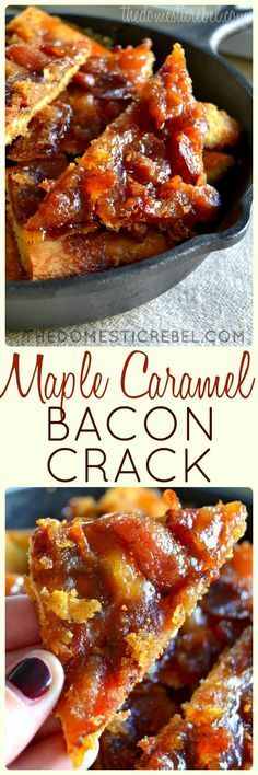 Maple Caramel Bacon Crack