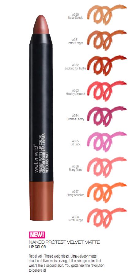 matte lip color
