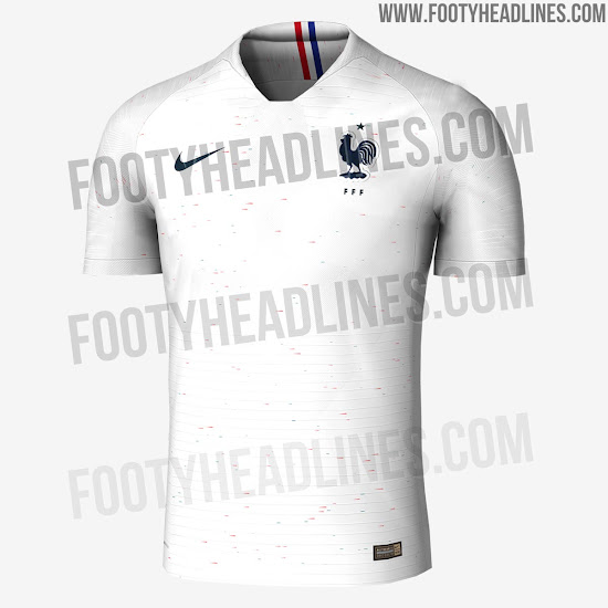 new product feb91 d8684 Most Unique Nike World Cup Kits So Far - Nike France 2018 ...