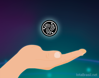 iota coin token tangle doação donation