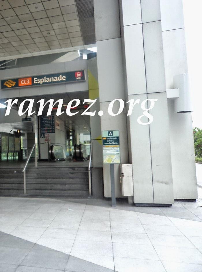 Menemukan Sewa Loker Di Stasiun MRT Singapore (SMRT)