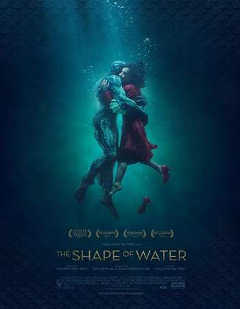 Poster Of The Shape of Water In Dual Audio Hindi English 300MB Compressed Small Size Pc Movie Free Download Only At worldfree4u.com
