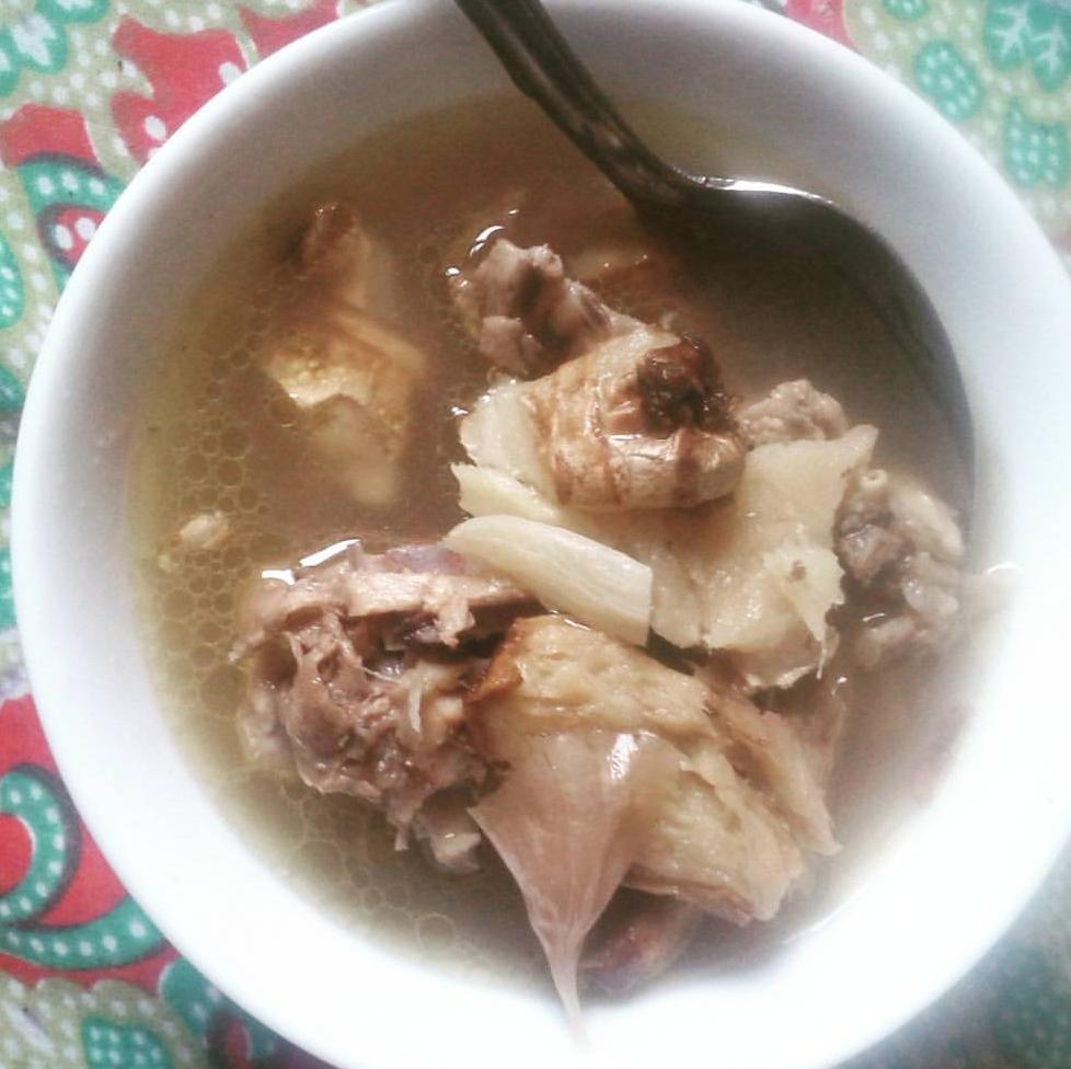 Resepi Sup Ayam Cara Kampung Copd Blog E