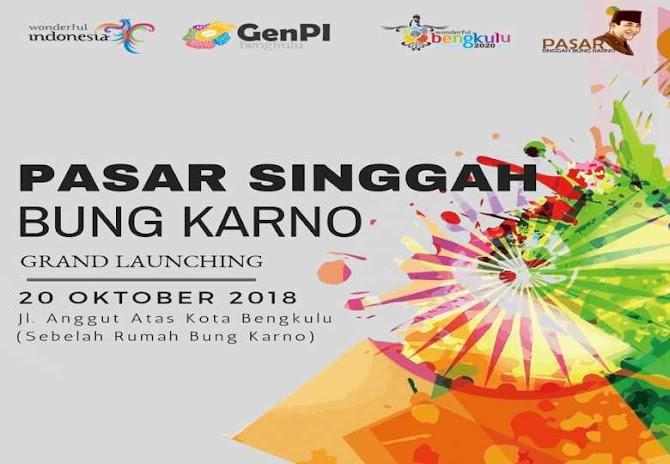 Asik! Bengkulu Punya Destinasi Digital Pasar Singgah Bung Karno