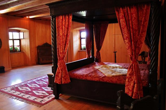 Ruang Kamar di  Kastil Predjama