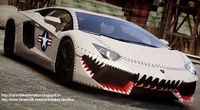 Range Rover Truck >> Car & Bike Fanatics: Monster Aventador