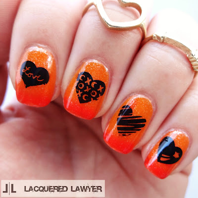 Thermal Love Nail Art