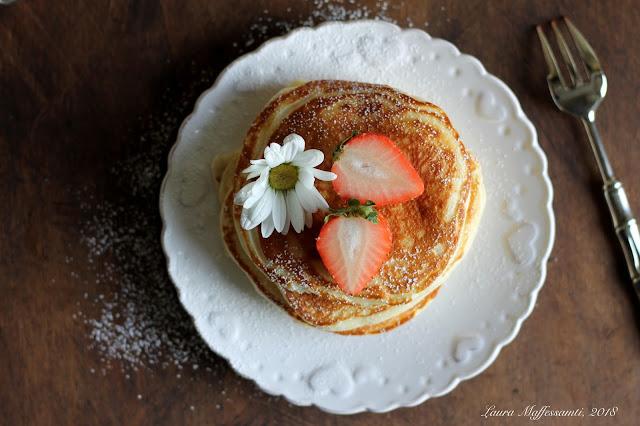 pancakes light ricetta senza burro