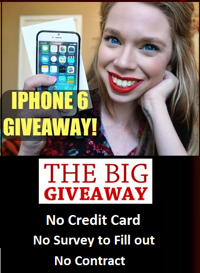 IPhone 6 Plus Giveaway No Credit Card No Survey to Fill out  No Contract The Best Campaign