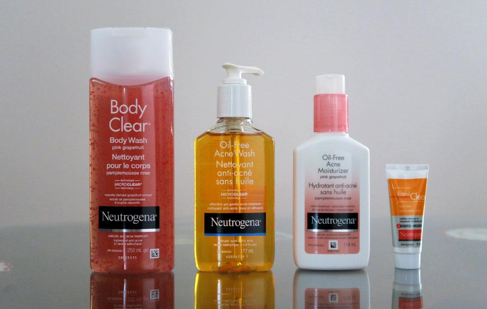 Các sản phẩm của Neutrogena trị mụn bán chạy nhất