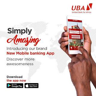 UBA mobile banking cashless nigeria