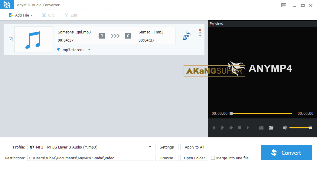 Download AnyMP4 Audio Converter 7.2.8 Full Version
